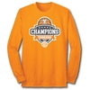 2018 Mens SEC Basketball Champions - L/S Orange Tee