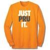 Just Pru It - L/S Orange Tee
