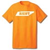 Aight - Youth S/S Orange Tee